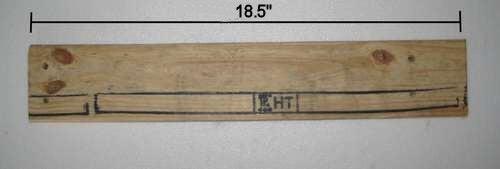 Cut Rear Crosspiece