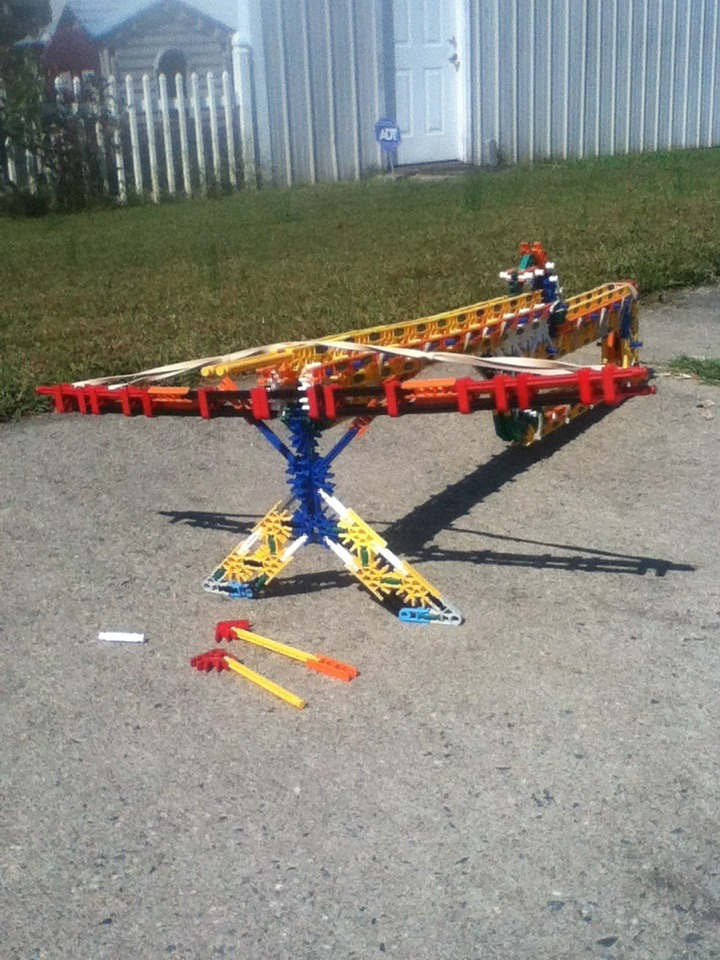 Knex Cross Bow Center Fire (instructions)