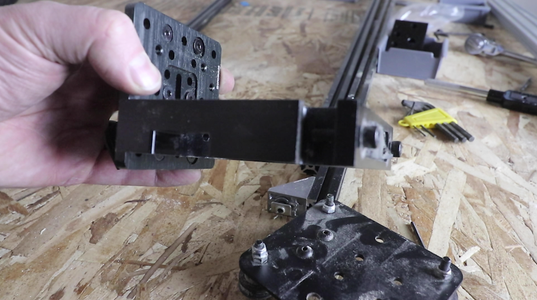 Install the New Linear Rail & Re-adding the Router