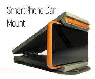 通用智能手机车载安装