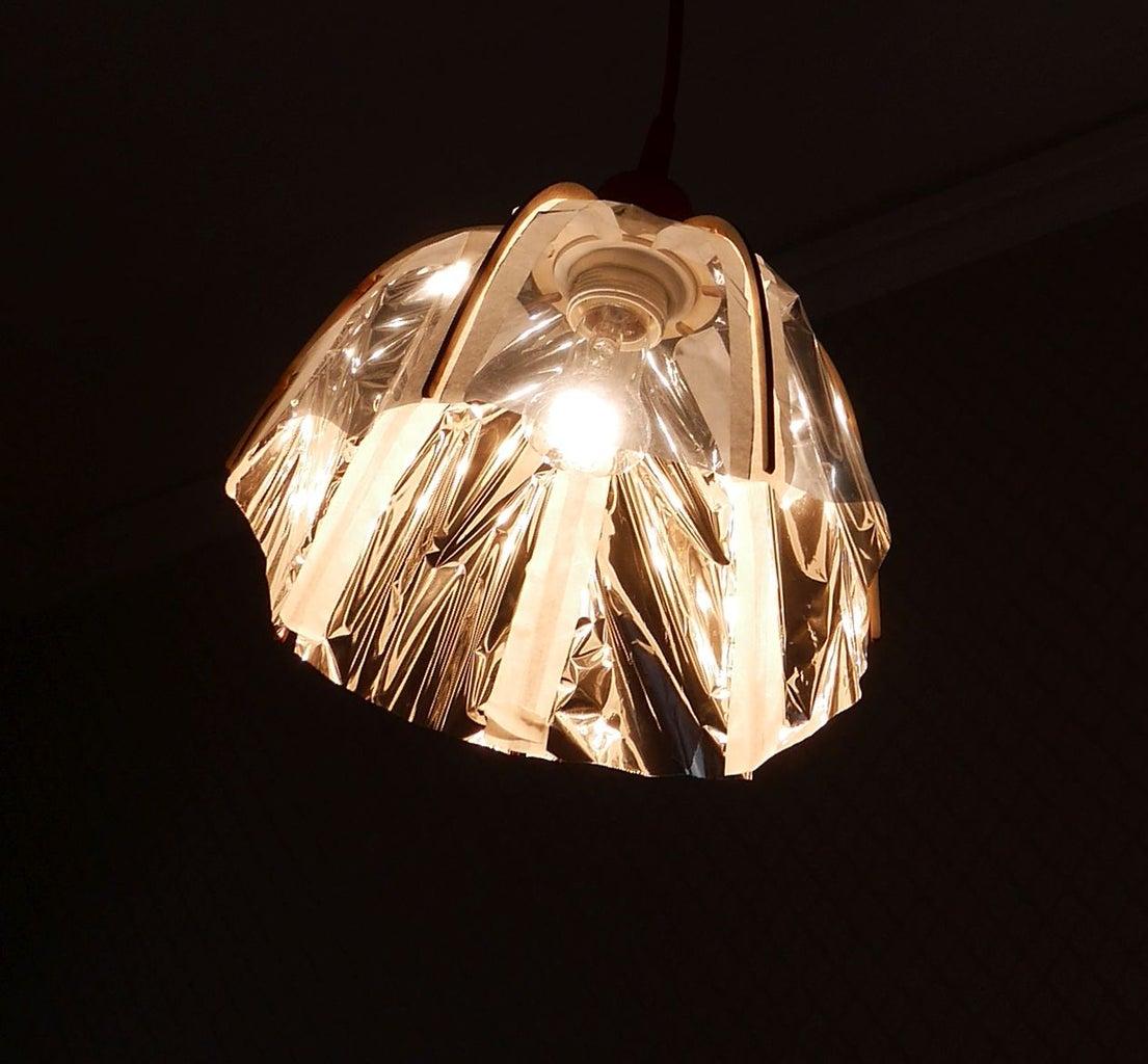 Semi-transparent Lampeshade