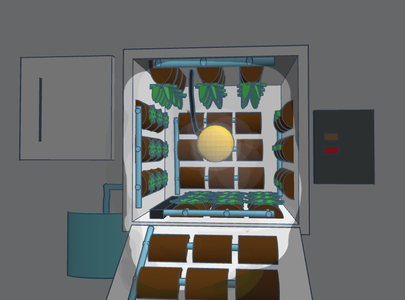 Sprout Cube - the Microgravity Space Garden