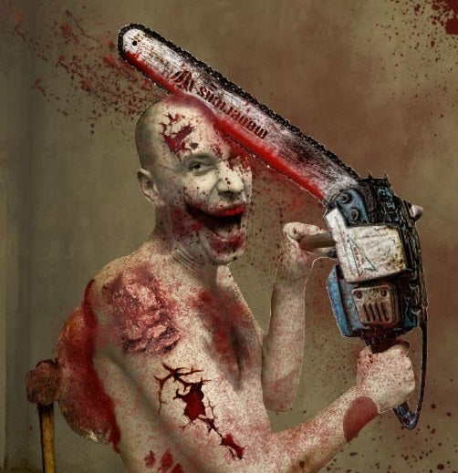 __ChainSaw Ur Head__ PhotoShop CS5