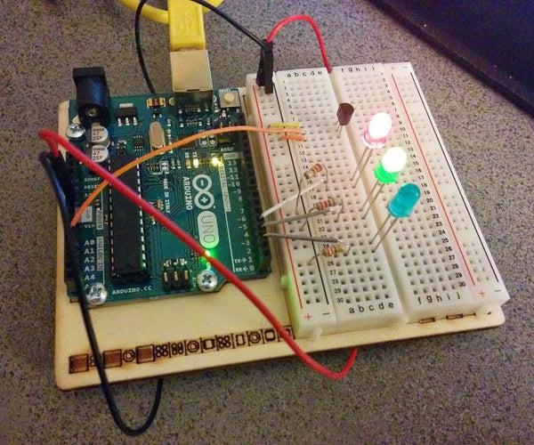 Arduino Temperature Gauge