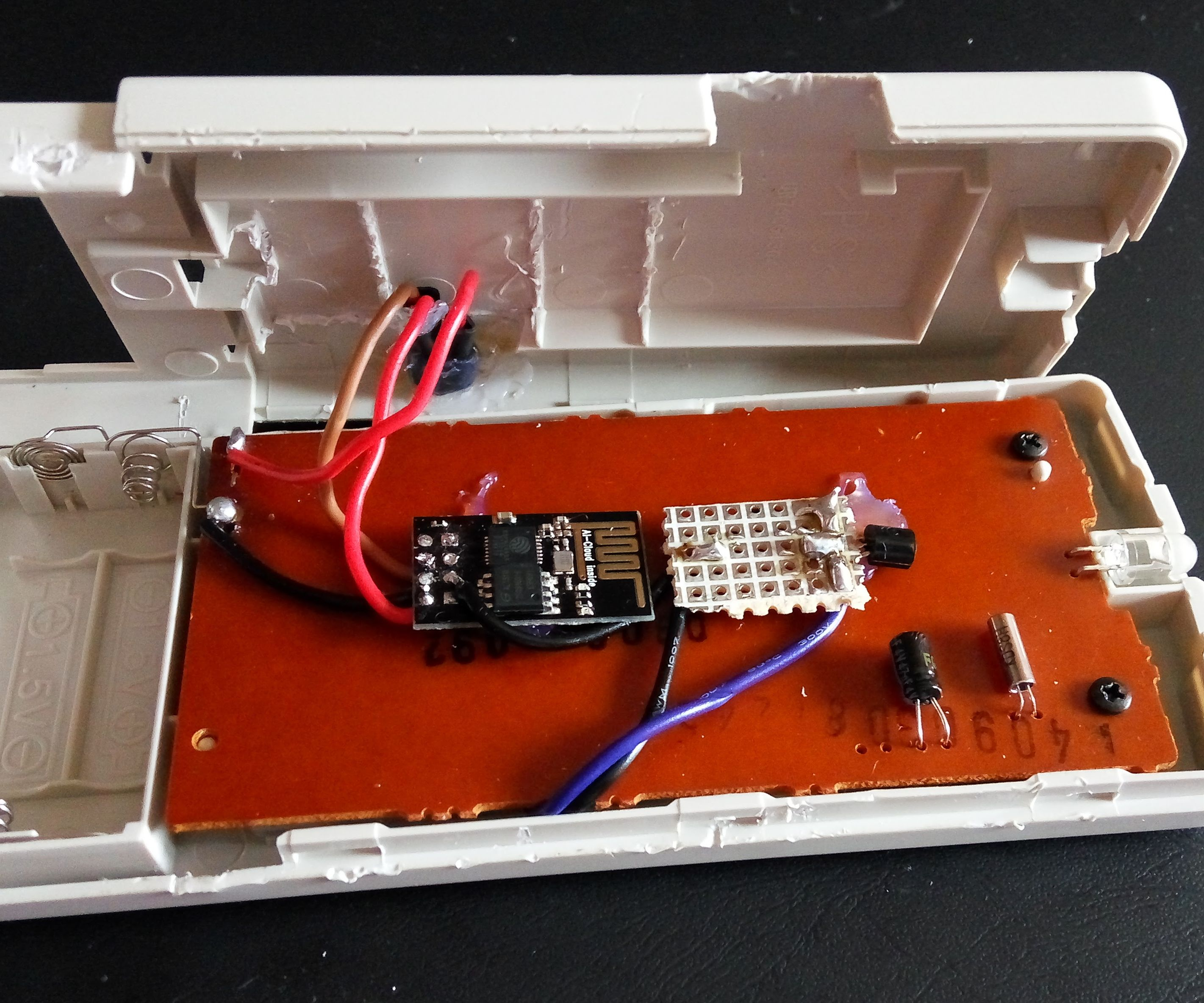 Control your Air Conditioner(IOT) with ESP8266