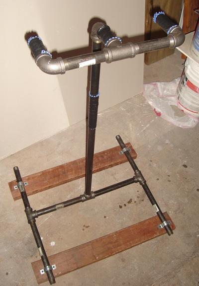 DIY Home Bicycle Repair Stand