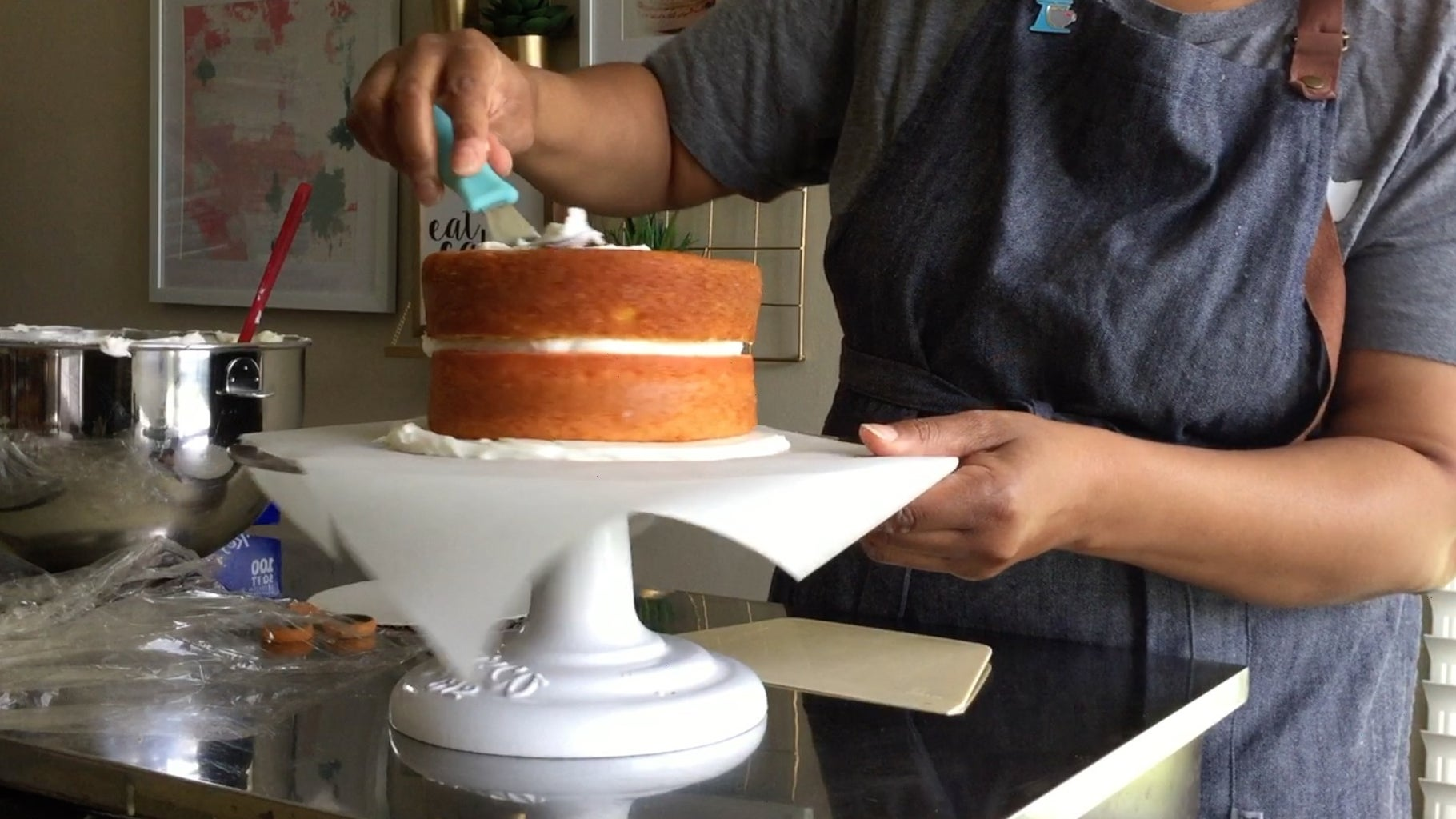 Step 3: Ice Your Cake