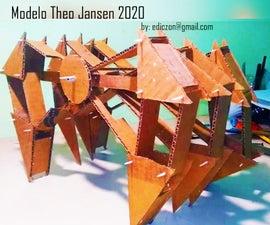 Modelo THEO JANSEN in CARDBOARD