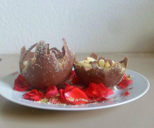 Edible Sugar Glitters and Edible Choclate Bowls