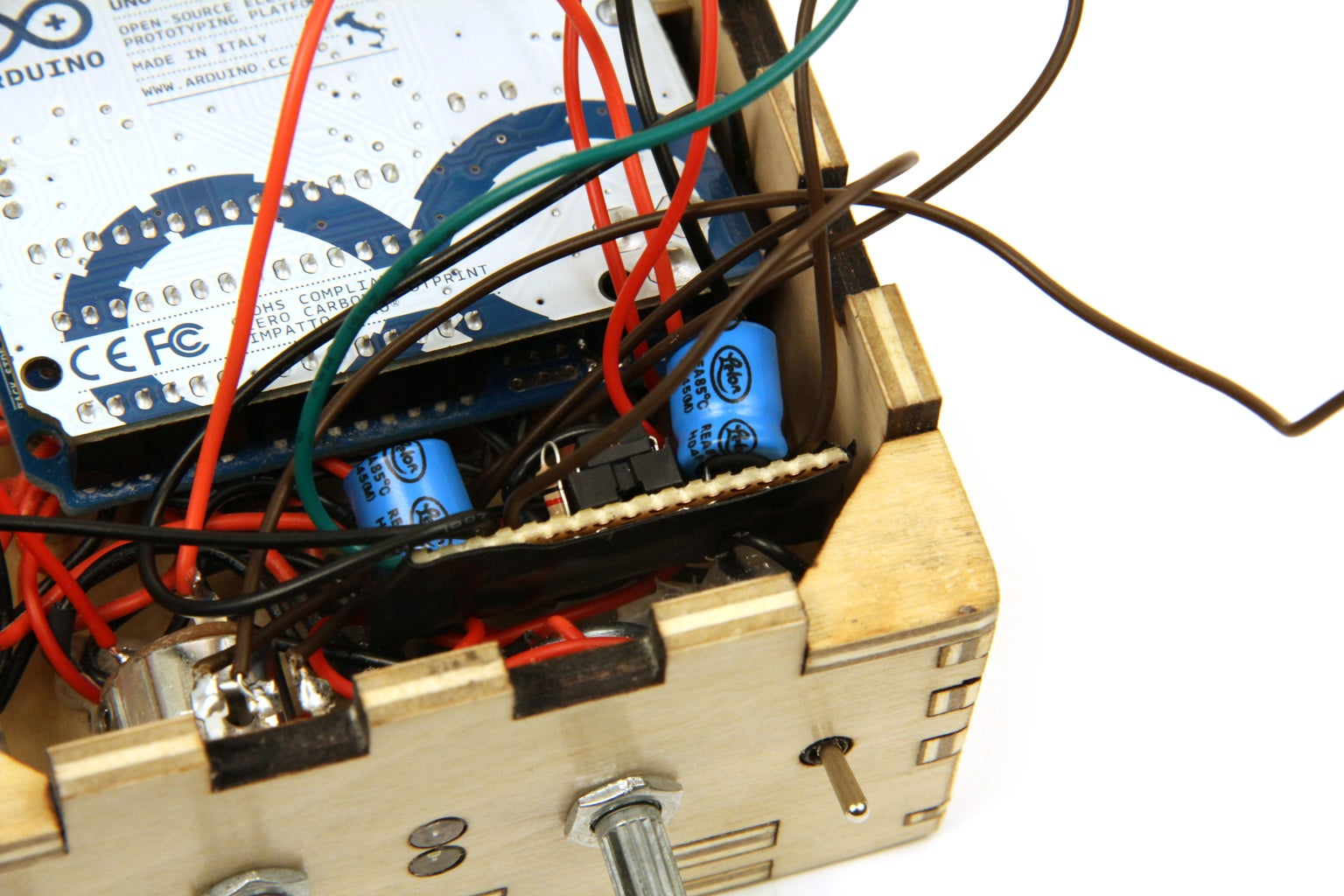 Install Components in Enclosure