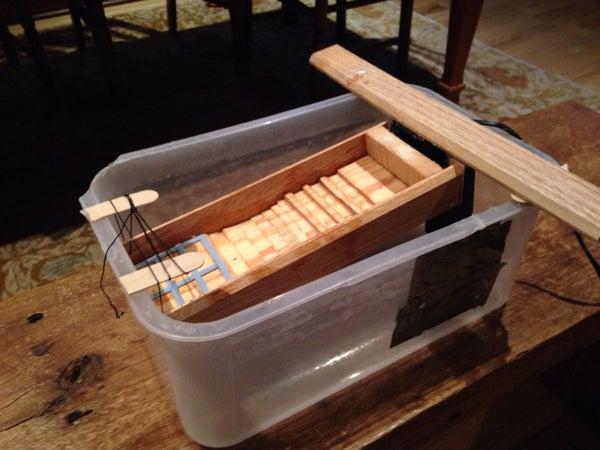Homemade Recirculating Sluice Box
