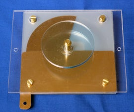 Variable Capacitor for a Crystal Set