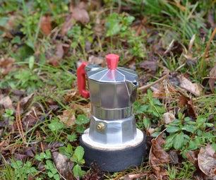 浓缩咖啡 - 完善的电池供电Makineta