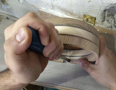 Cutting a Slot in the Circle