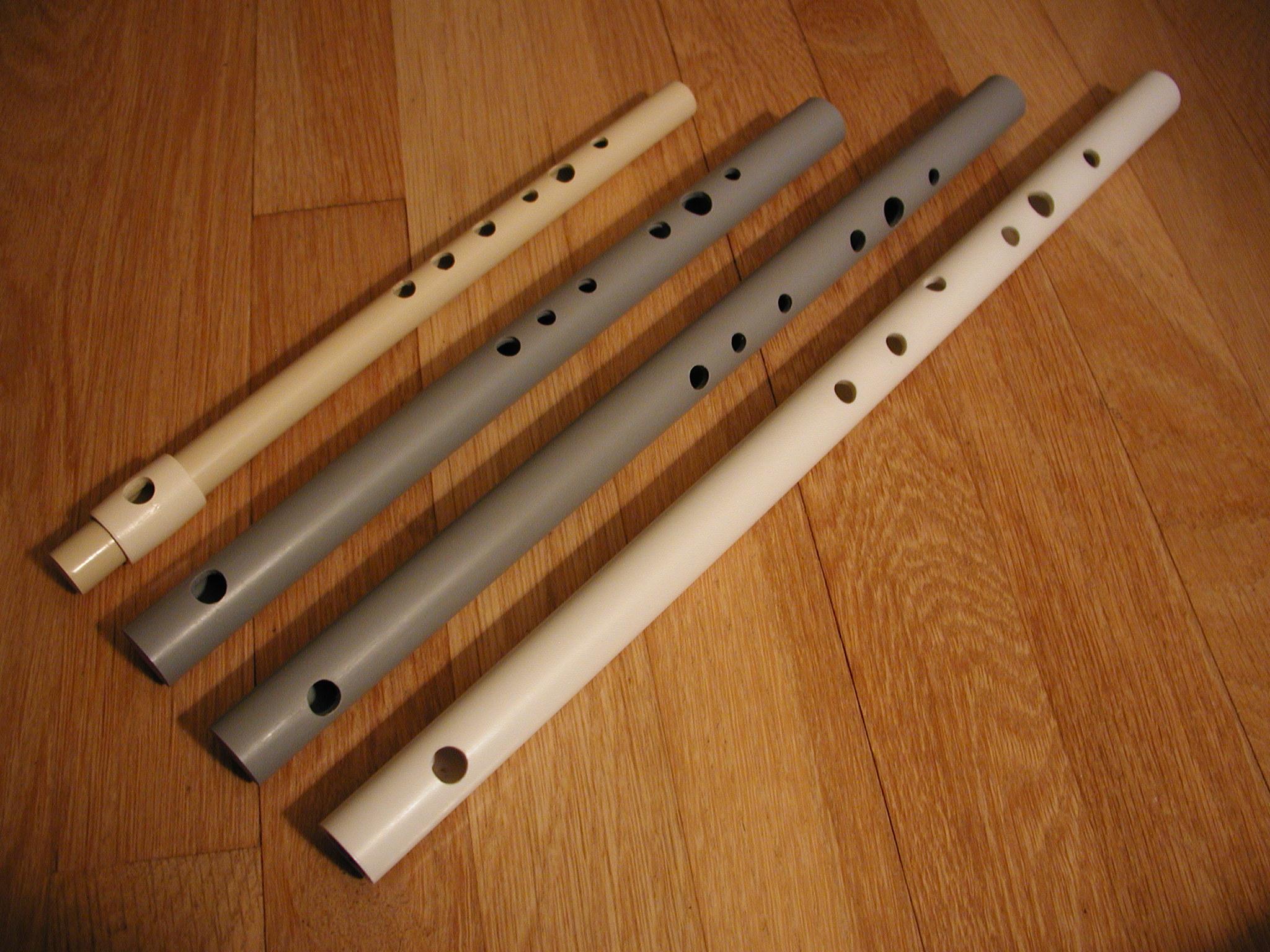 Making Simple PVC Flutes