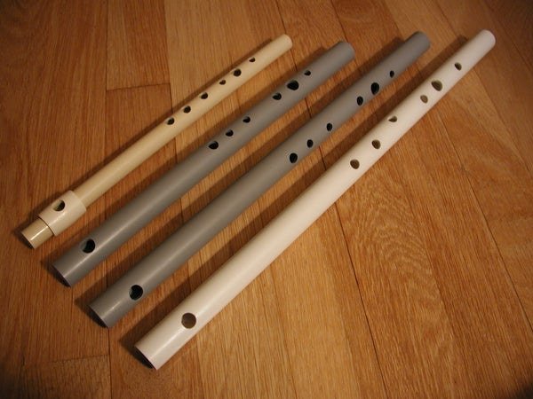 Making Simple PVC Flutes