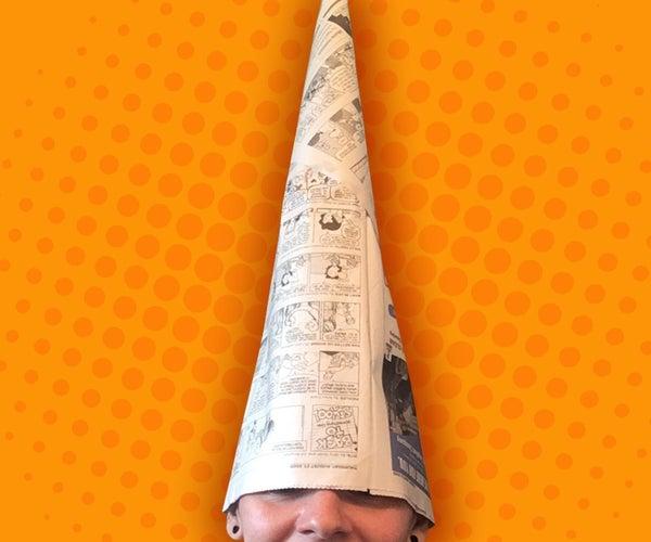 Wizard Newspaper Hat