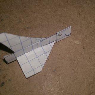 How to Make the StarFang Paper Airplane