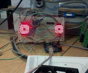 Arduino 8x8 Matrix Mad Eyes
