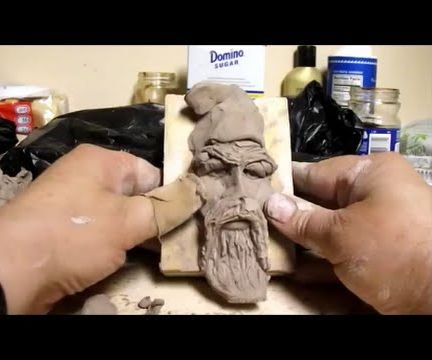 How To Sculpt A Wizard In Polymer Clay or Self Hardening