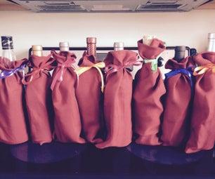 Easy Decorative Wine Bags