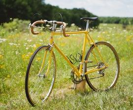 Rebuilding and Painting Vintage Road Bike