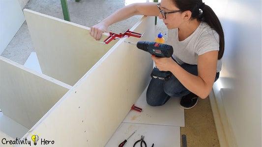 Assembling the Workbench.