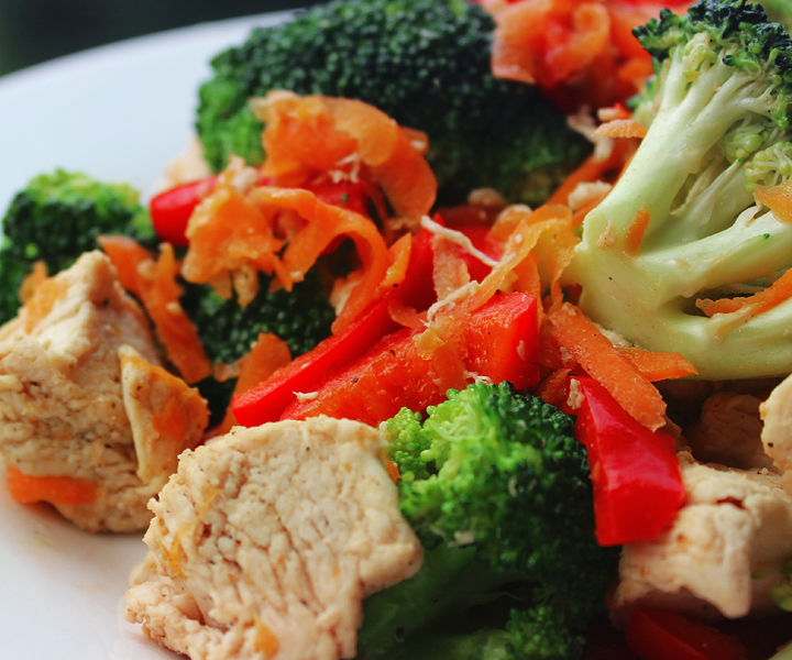 Easy Chicken Vegetable Mix - Healthy Recipes