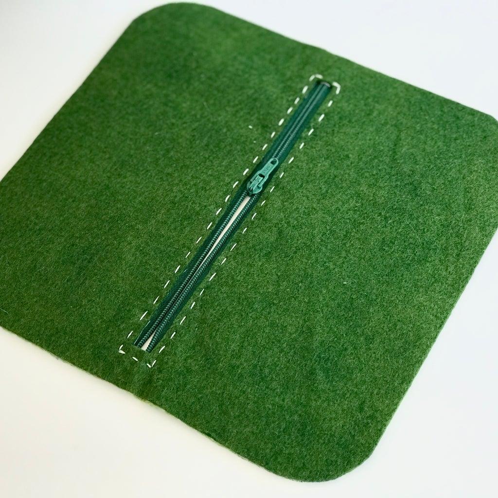 Sew in a Zipper by Hand
