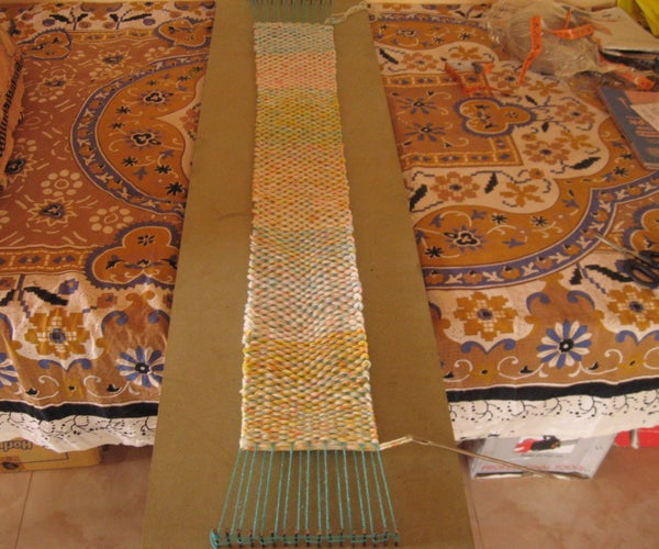 How to Make a Long Loom Board for Weaving Scarf