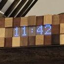 Scrap Wood & NeoPixel Clock