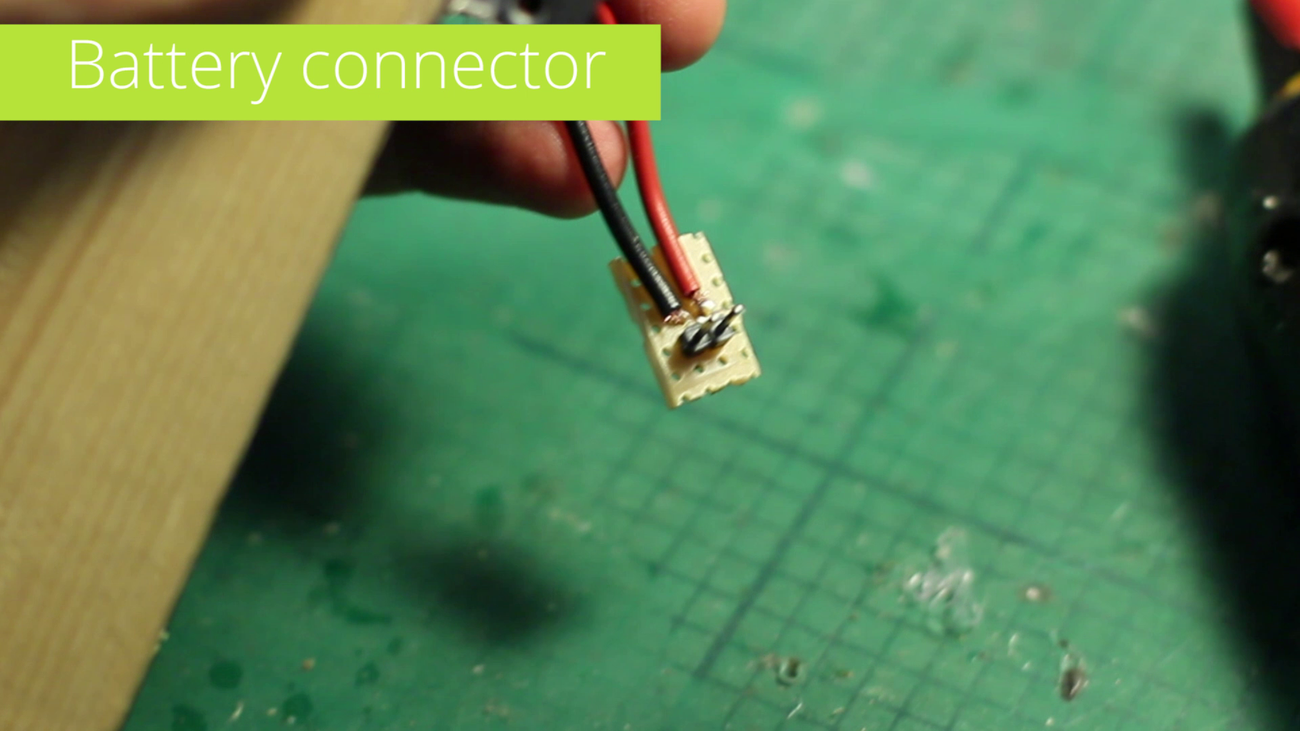 Solder Wires to the Power Switch