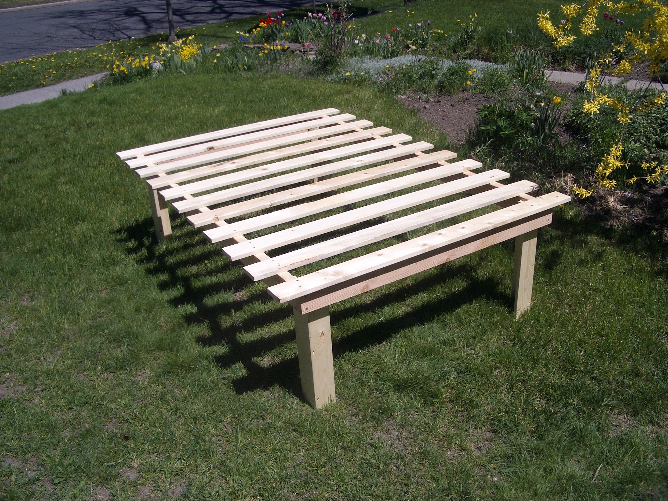 Cheap Easy Low Waste Platform Bed Plans 7 Steps With Pictures Instructables