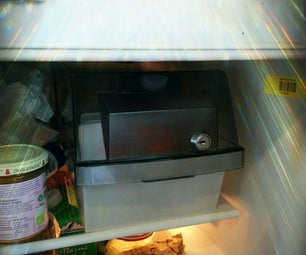 Milk Safe From 5 1/4 Floppy Disc Container