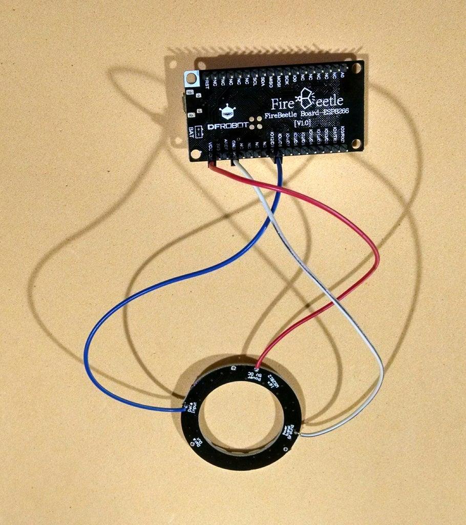Circuit With Firebeetle Board