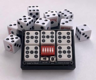 Pocket Dice! Electronic Dice for Liars Dice and More