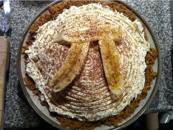 Banoffee Pi - for Pi Day 2011