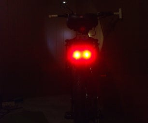 Bicycle Tail Light With Brake Light