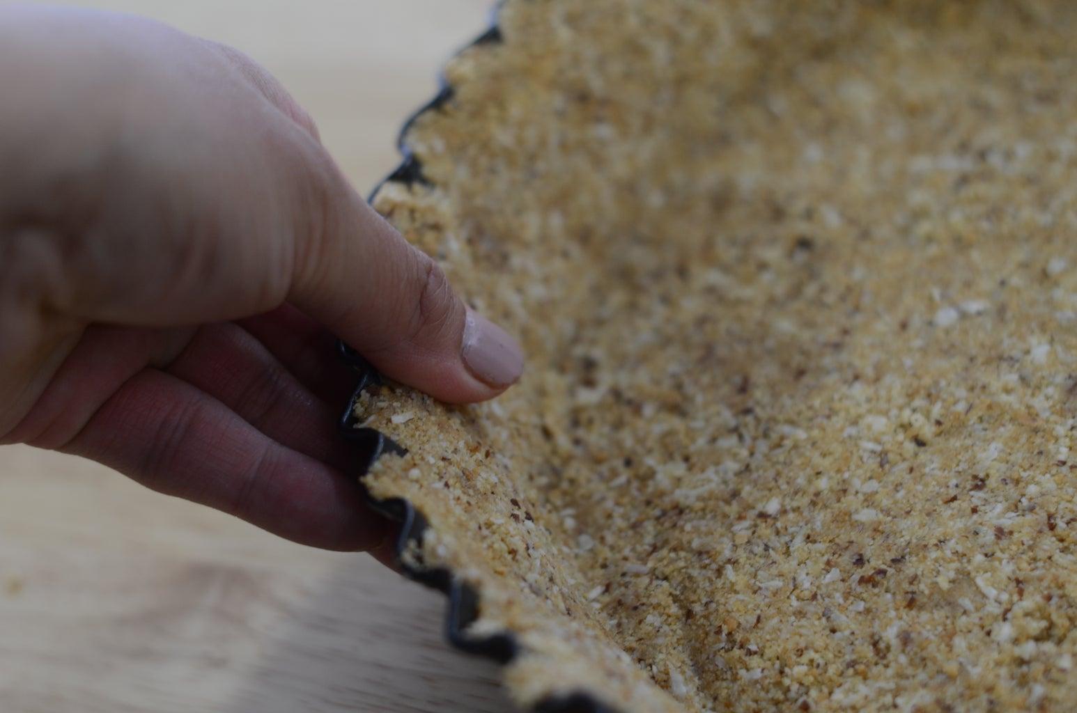 No-bake Coconut Crust