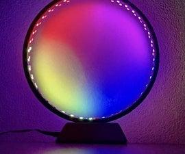 LED Ringlamp 2.0 With WS2812B Led Strip