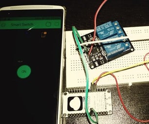 Control Switch Over Internet With BLYNK