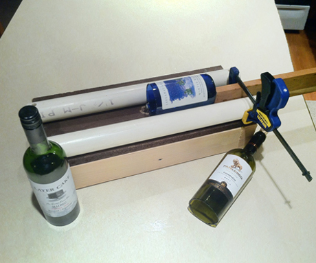 Simple Adjustable Glass Bottle Cutter