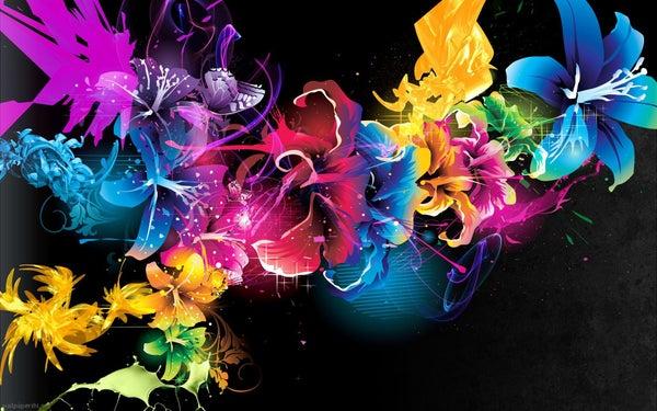 Crayon Melt Art