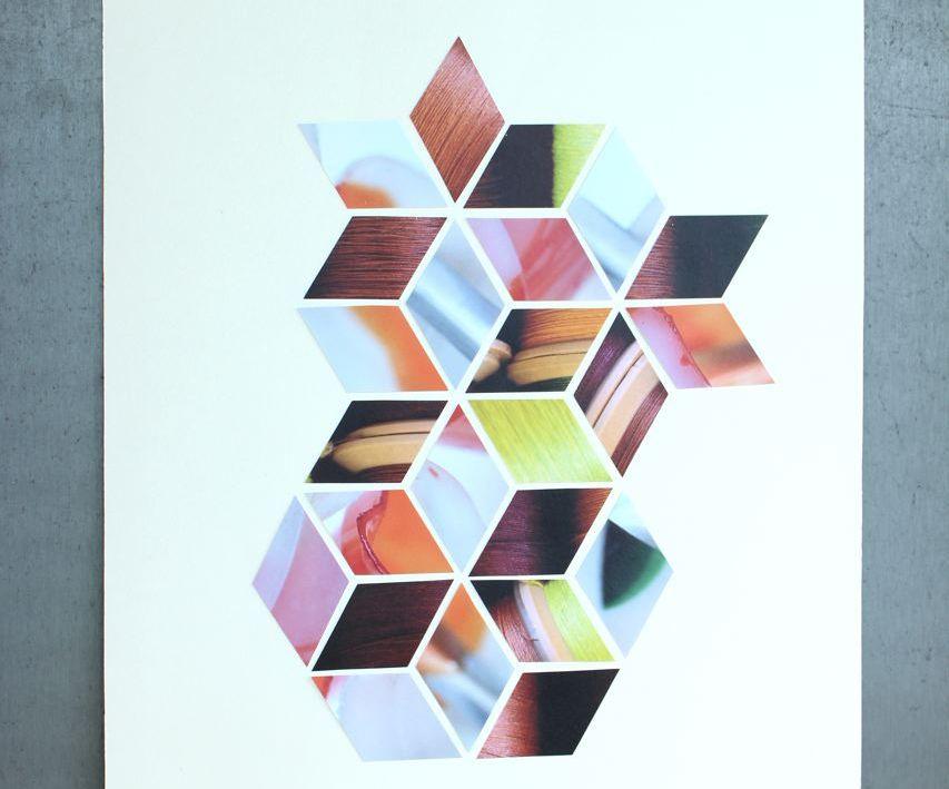 DIY Geometric Poster
