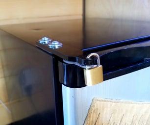 Mini-Fridge Lock