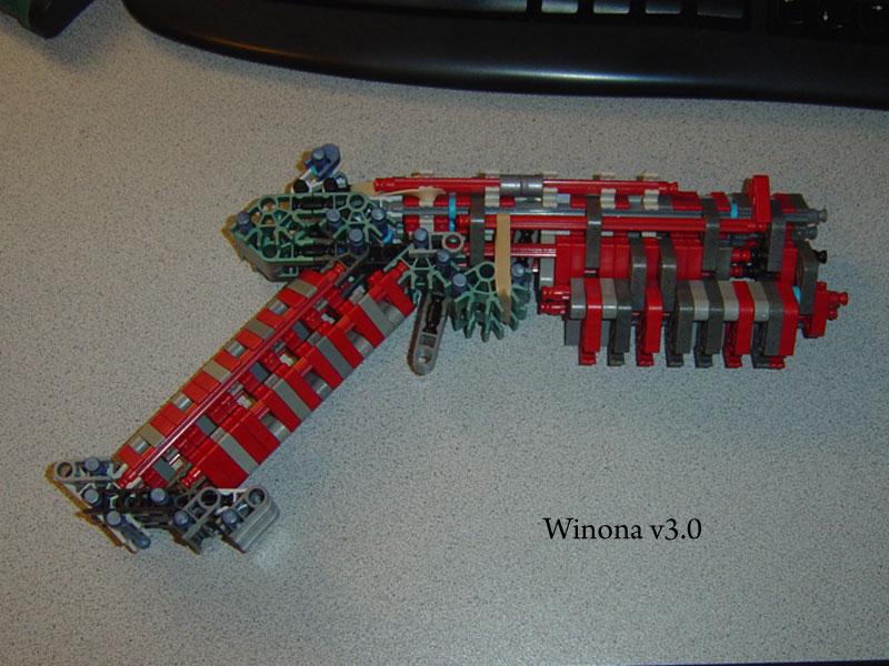 K'nex Pistol: Winona v3.0