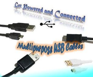 DIY Multipurpose USB Cables