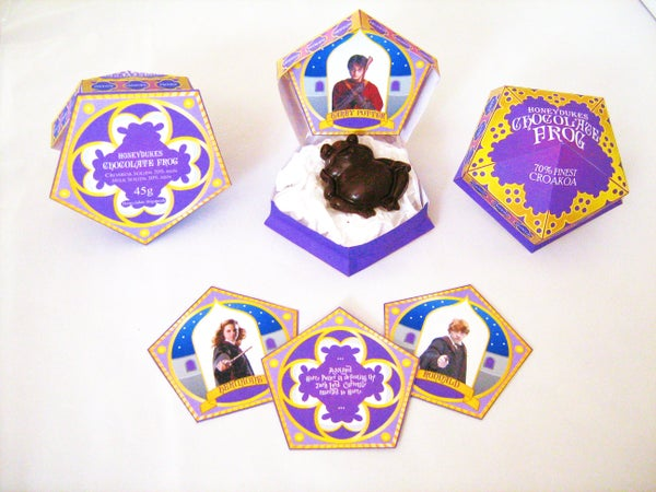 HoneyDukes Chocolate Frog Box (Harry Potter Birthday Party Favours)