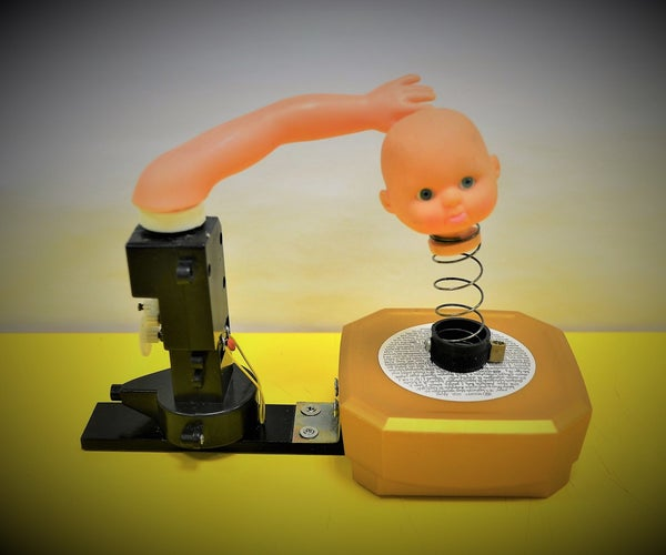"""""""The Unsettling Machine"""": a Quick Junk-Art Sculpture for Beginners"""