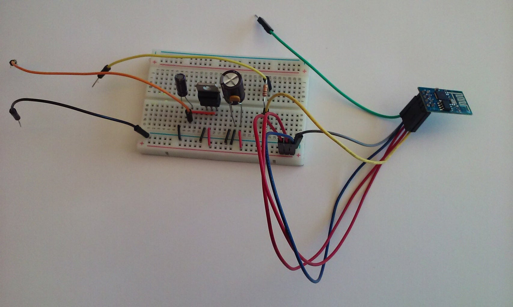 Wire Up the WiFi Module
